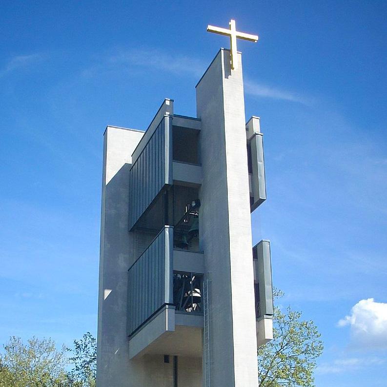 Gottesdienst in der Gedenkkirche Maria Regina Martyrum